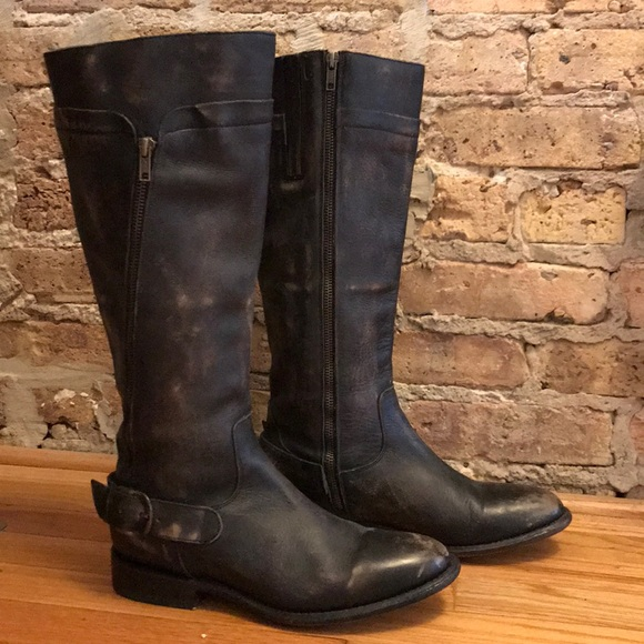 Matisse Tall Distressed Leather Boots